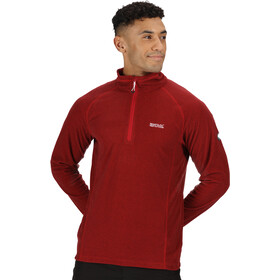 Regatta Montes Fleece LS Top Men chinese red/black